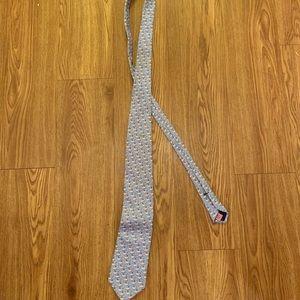 Vineyard Vines whale silk tie